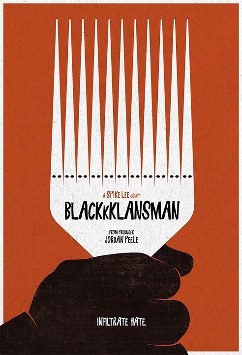 Image result for blackkklansman poster