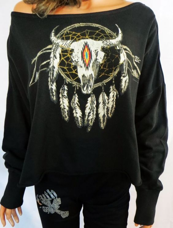 RALPH LAUREN DENIM SUPPLY KNIT CROCHET DREAM CATCHER SKULL NWT LADIES M $90 retail  our prices are WAY BELOW RETAIL! all JEWELRY SHIPS FREE! www.baharanchwesternwear.com baha ranch western wear ebay seller id soloedition
