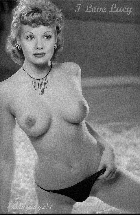 Naked girl in public