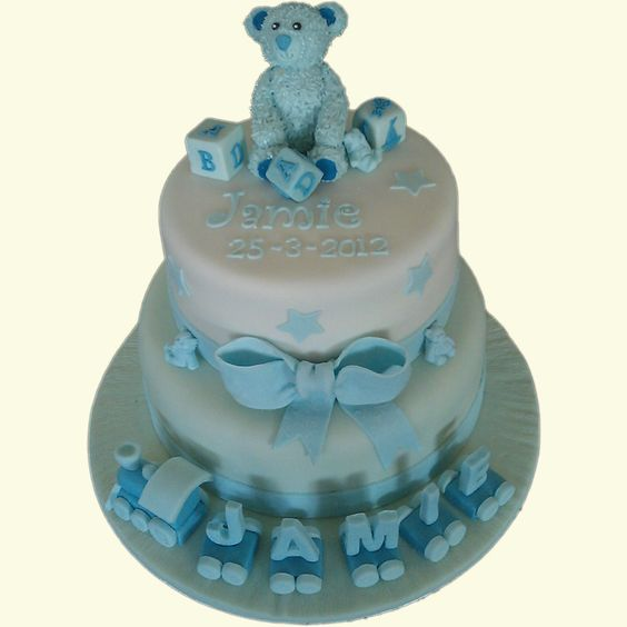 Jamie's Christening Cake