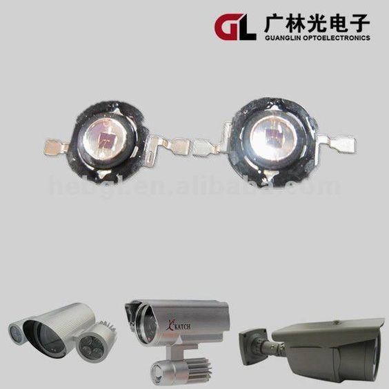 2W 850nm IR LED Chip used in CCTV Camera