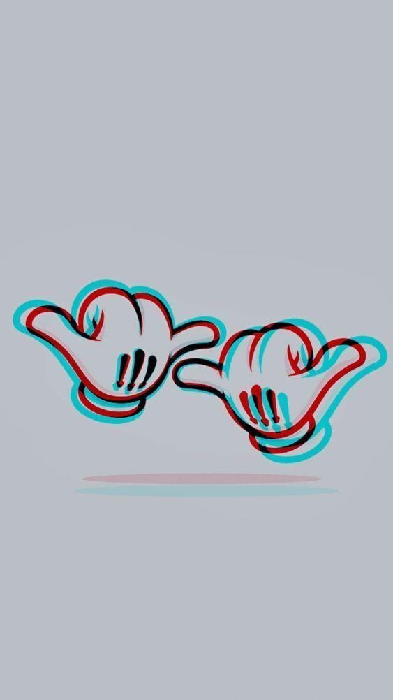 Hang Loose Brotha Brotha Hang Loose Brotha Hang Loose In 2020 Glitch Wallpaper Neon Wallpaper Hypebeast Wallpaper