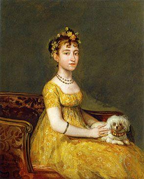 María Vicenta Barruso Valdés en 1805