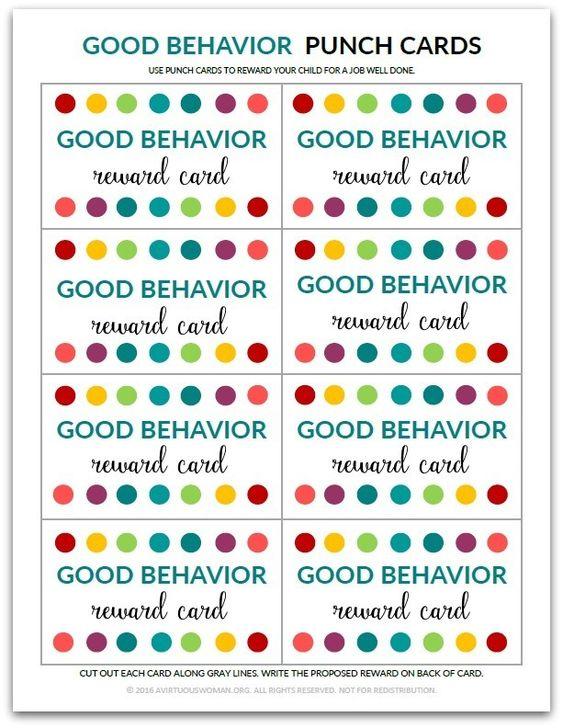 good behaviour speech