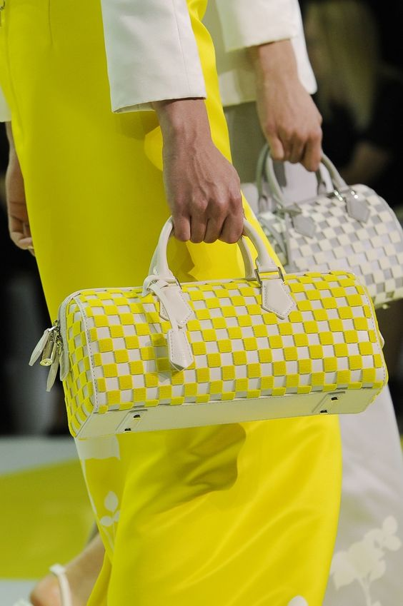 A closer look at the bags from the Louis Vuitton Spring/Summer 2013 Womens Fashion Show.  Louis Vuitton / Ludwig Bonnet
