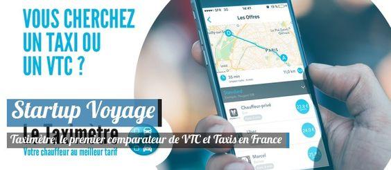 Taximètre, le premier comparateur de VTC et taxis en France