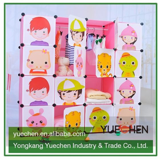 2015 hot sell fancy bedroom furniture for girls wardrobe