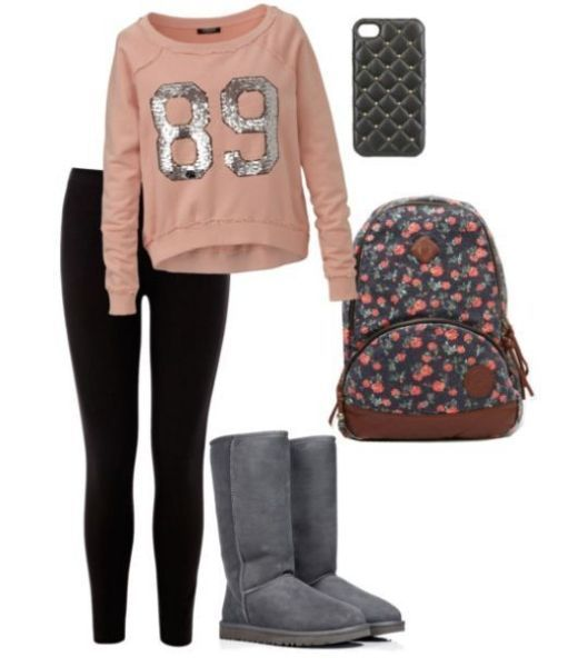 this is the main fashion for teenage girls but i don't get the leggings everything thing Discover and share your fashion ideas on www.popmiss.com