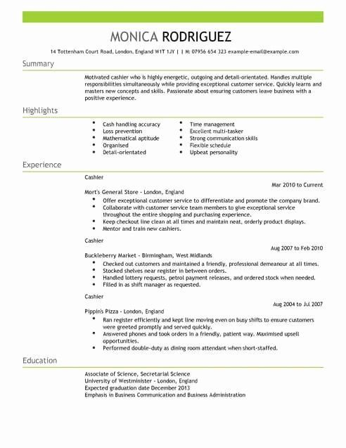 20 Things Resume Words Fashion Trend In 2020 Cashiers Resume Sales Resume Examples Resume Examples