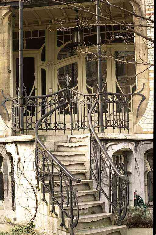 Jugendstil dream apartment plan your trip and entrance - Huis trap ...