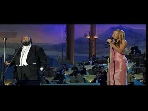 Luciano Pavarotti, Mariah Carey - Hero (LIVE) HD - YouTube