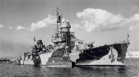 Scipione  Africano croiseur léger italien