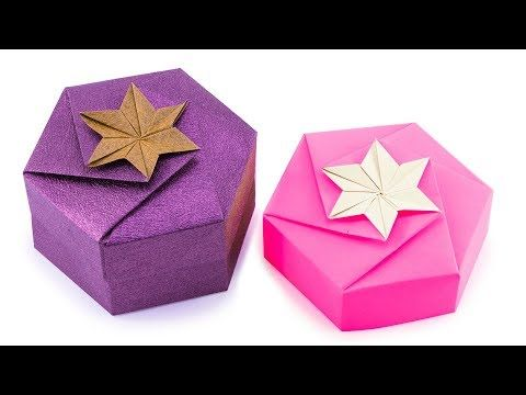 DIY Origami Gift Box - The Gift Of Mindful Giving | Origami For ... | 360x480