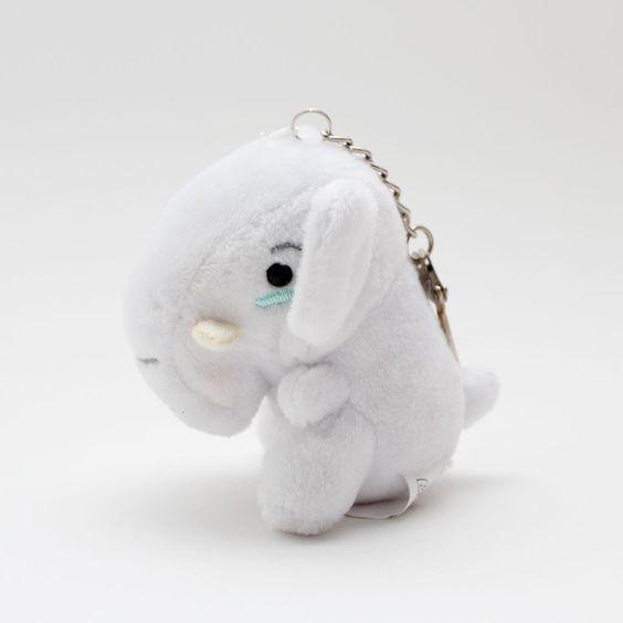 Awkward Elephant Mini Plush/Keychain