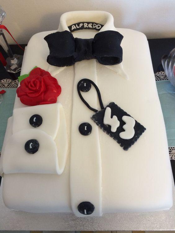 Torta di compleanno per un uomo torte pinterest for Decorazioni torte 40 anni uomo