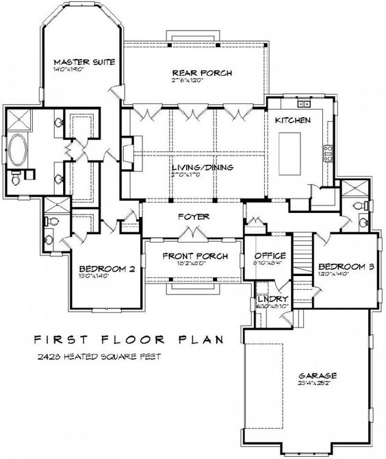 Beautiful 3 Bedroom 3 Bath French Plan With Open