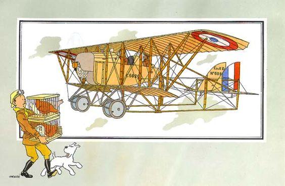 Avion 58 : Biplan G-3 des frères Caudron