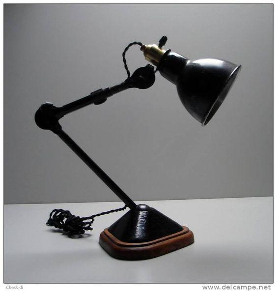 1921 ancienne lampe gras n 207 de bernard albin gras dcw deco interieur pinterest lampes. Black Bedroom Furniture Sets. Home Design Ideas
