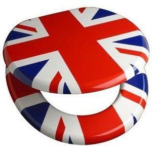 Union Jack toilet seat