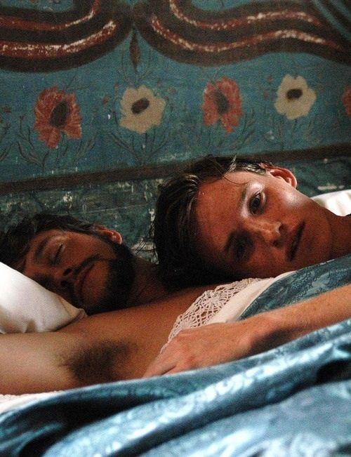 Hugh Dancy and Eddie Redmayne in Savage Grace.....All the yeses ...