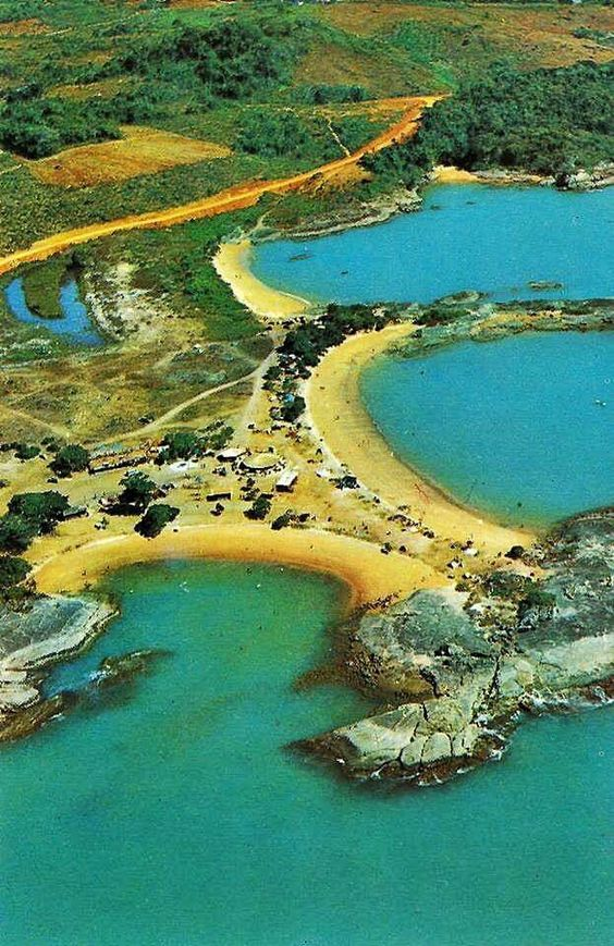 Tres praias anos 80 - Guarapari ES
