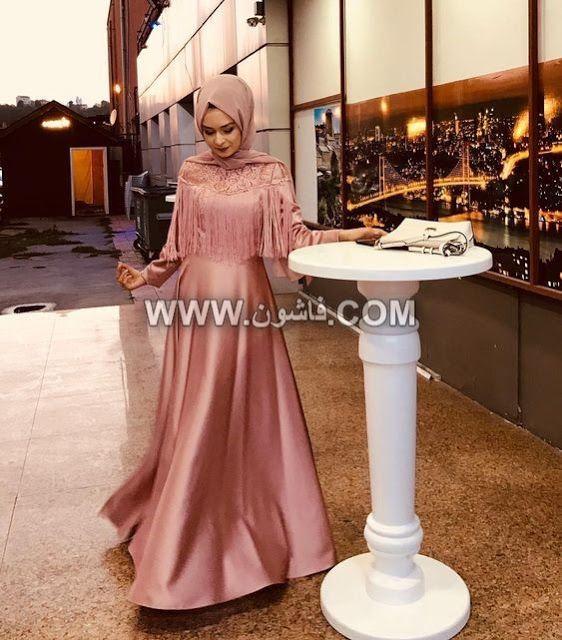 أحدث فساتين سواريه بكاب لعام 2019 للمحجبات Simple Wedding Dress Casual Casual Wedding Dress Hijab Dress Party