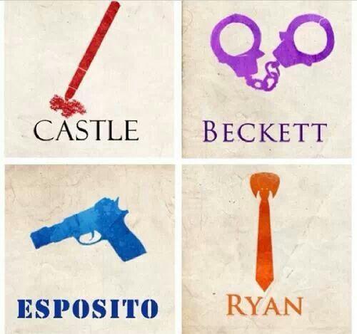 Castle/Beckett/Esposito/Ryan graphic