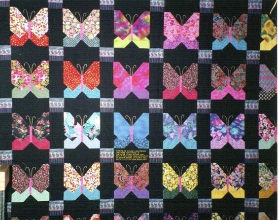 My first Quilt   Butterfly