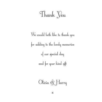 Proper Wedding Gift Message : Wedding Thank messages for favors ... Wedding Printable Butterflies ...