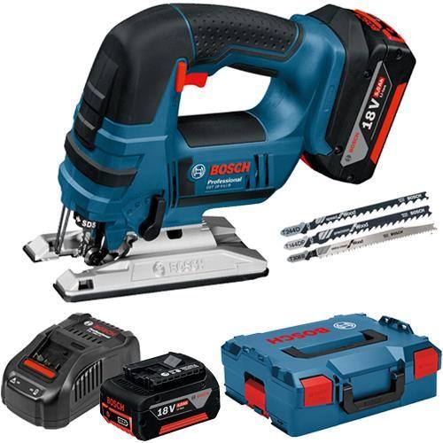Bosch Gst 18 V Li B 18v Top Handle Jigsaw 2x 4ah 06015a6174 Bosch Tools Bosch Power Tools