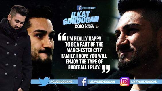 How excited are you to see Ilkay Gündogan in action for City next season?