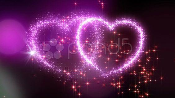 Heart Glitter 2 M1 HD - Stock Footage | by bluebackimage