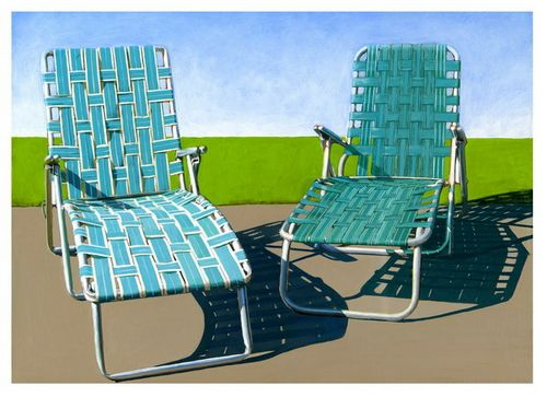 Summer Loungers By Leah Giberson