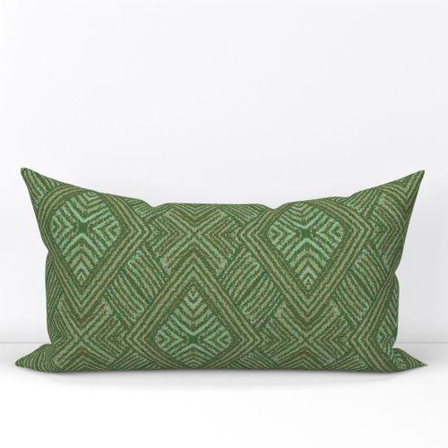 Langston Olive Spoonflower Lumbar Throw Pillow Throw Pillows Spoonflower