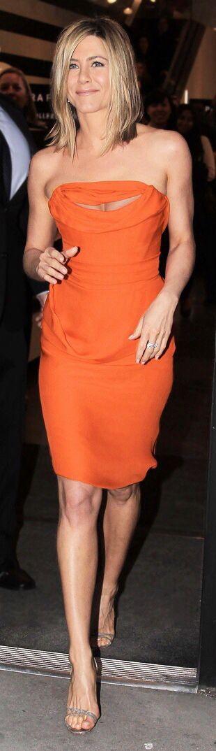 Jennifer Aniston in Vivienne Westwood.