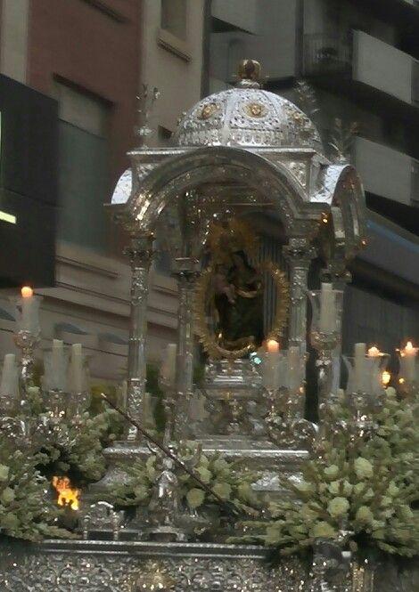 Procesión de la Virgen de la Cinta, Huelva