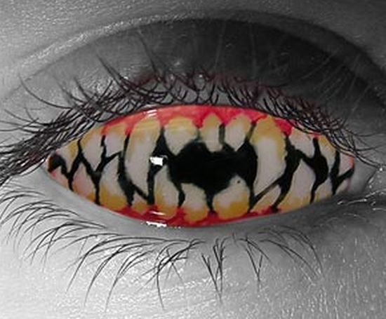 My Second Wish: Weird and Awesome Contact Lenses