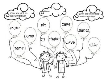 Worksheet Vowel Consonant E Worksheets homework on pinterest vowel consonant e homework