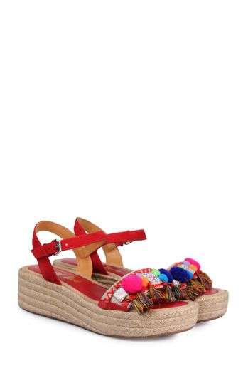 CB by Coral Blue Sandalette rot