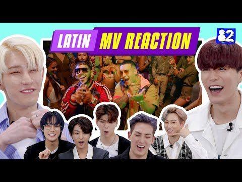 Kpop Idols Vav React To Famous Latin Mv Rosalia Daddy Yankee Ozuna J Balvin Youtube Daddy Yankee Latin Music Reggaeton