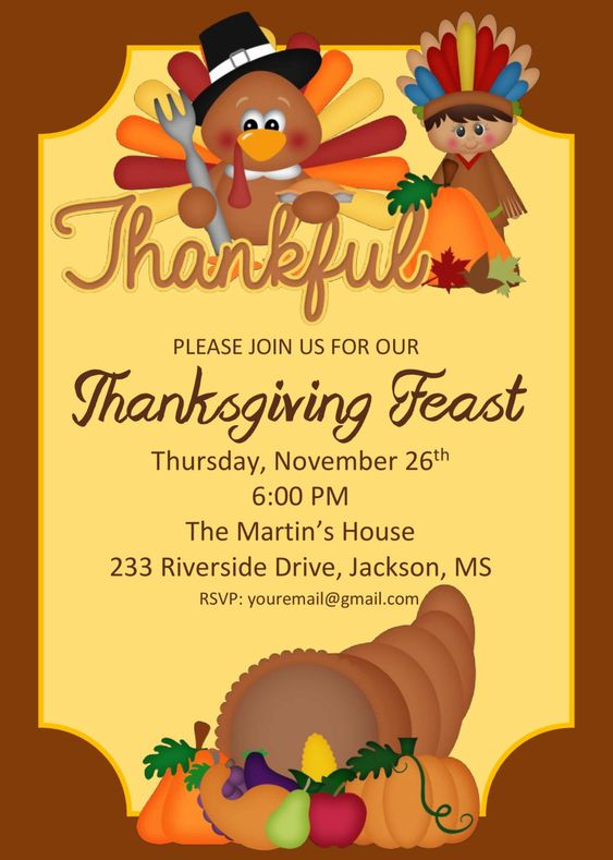 DIY Printable Thanksgiving Feast | Thanksgiving Party | School Thanksgiving Feast | Pilgrim | Indian | Turkey | Thanksgiving Party by PerfectedbyGrace on Etsy