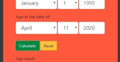 How Do You Make A Age Calculator Using Javascript First You Open Your Html Editor Like Notepad Subline Text Brackets Etc In 2020
