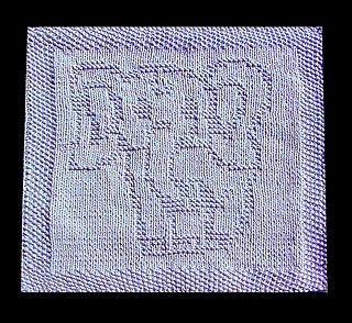 knitted elephant dishcloth pattern | Ravelry: Elephant Baby Lazy Cloth pattern by Wineta