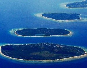 Gili Islands in Indonesia, Gili Trawangan