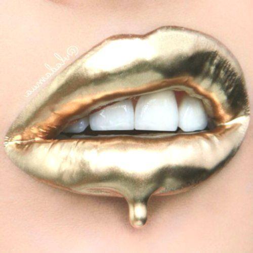 Vladamua In 2020 Lip Colors Gold Fashion Classic Gold