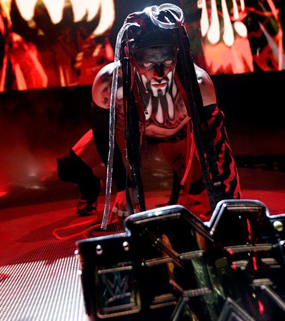 NXT Takeover Brooklyn entrance Finn Balor
