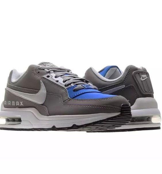 nike air max ltd (numero 13) uomini 3 scarpe nuove 697977 224 grey / iper