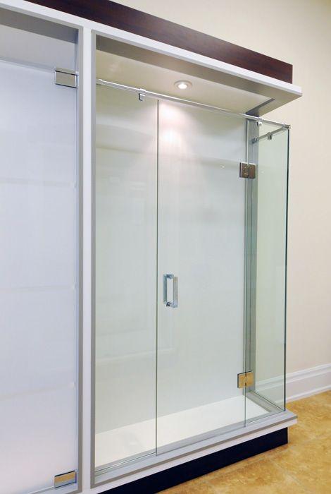 pictures of glass show rooms | Custom Glass Shower Door Woodbridge Showroom