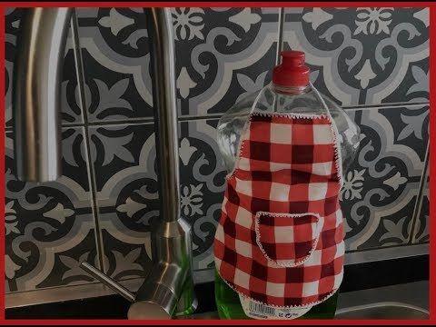 تزيين المطبخ بالملابس القديمه افكار جديده لتزيين المطبخ جملى مطبخك بإيدك افكار للمطبخ Youtube Bottles Decoration Decor Home Decor