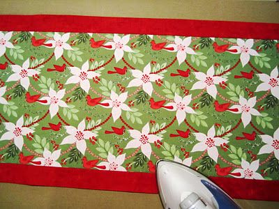 Sew we quilt comfort and joy with deonn and her ten for 10 minute table runner placemats